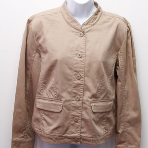 brown jacket Christopher & Banks size S